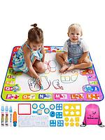 Набор для рисования водой из 25 предметов Развивающие игрушки Игровой детский коврик для раскраски