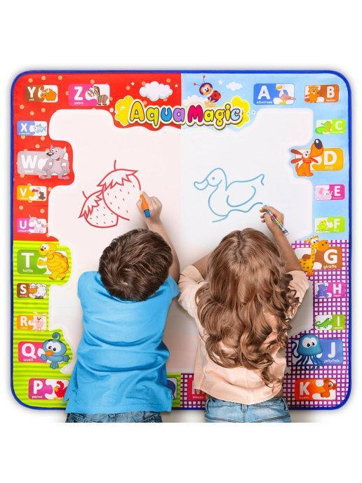 Набор для рисования водой из 25 предметов Развивающие игрушки Игровой детский коврик для раскраски - фото 9