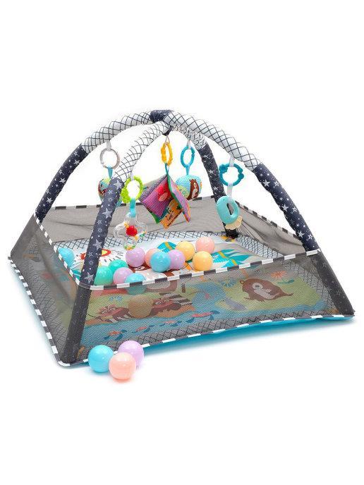 "Развивающий коврик для новорожденного ""Play Ground Gym"" - фото 3"