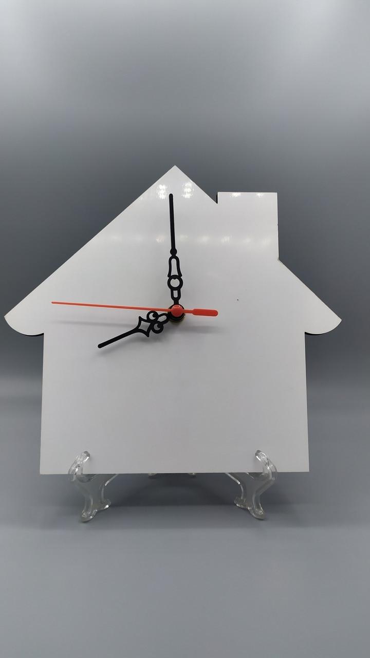 Рамка МДФ для сублимации (Домик-Часы), размер 200х185х5мм