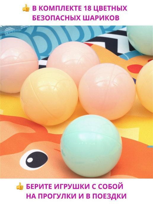 "Развивающий коврик для новорожденного ""Play Ground Gym"" - фото 8"