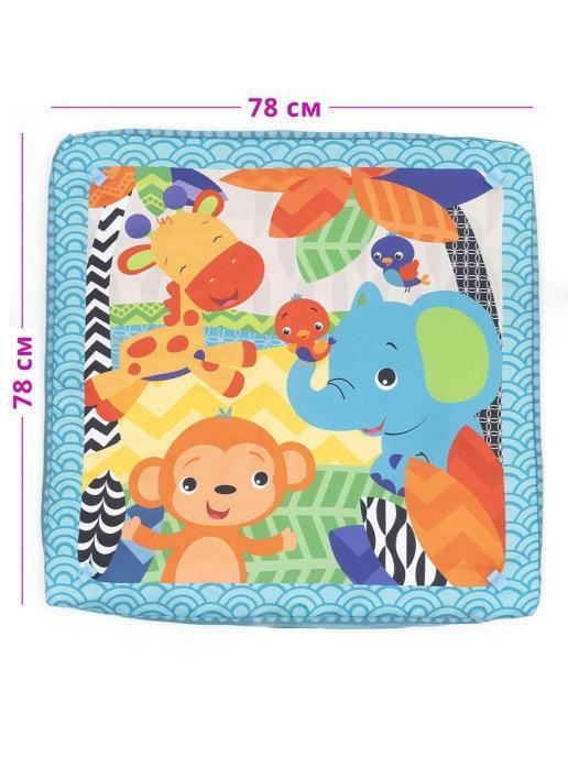 "Развивающий коврик для новорожденного ""Play Ground Gym"" - фото 4"