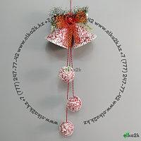 """Новогоднее украшение подвеска """"Колокол"""" 65 см, фото 1"""