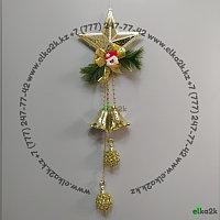 """Новогоднее украшение подвеска """"Звезда"""" 87 см, фото 1"""