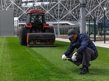 Обслуживание футбольных полей