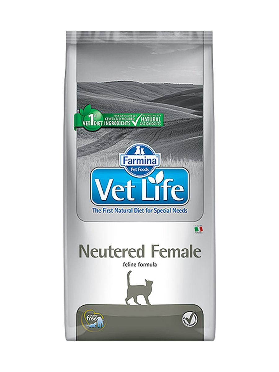 Farmina Vet Life Neutered Female для стерилизованных кошек