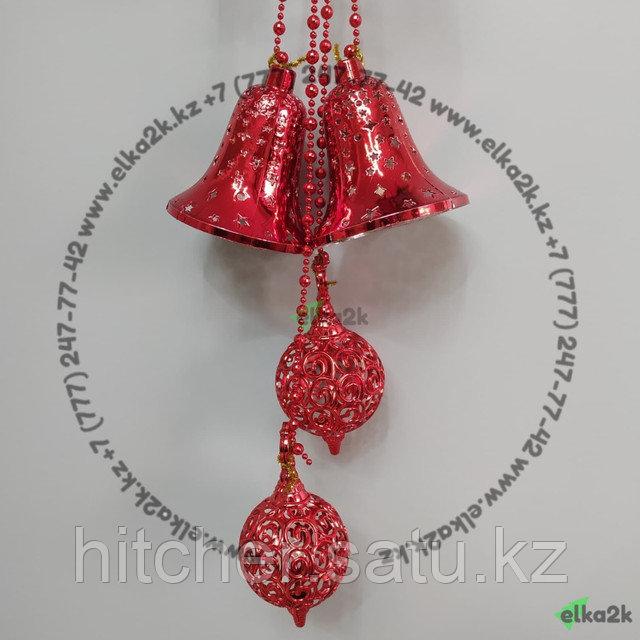 """Новогоднее украшение подвеска """"Звезда"""" 87 см"""
