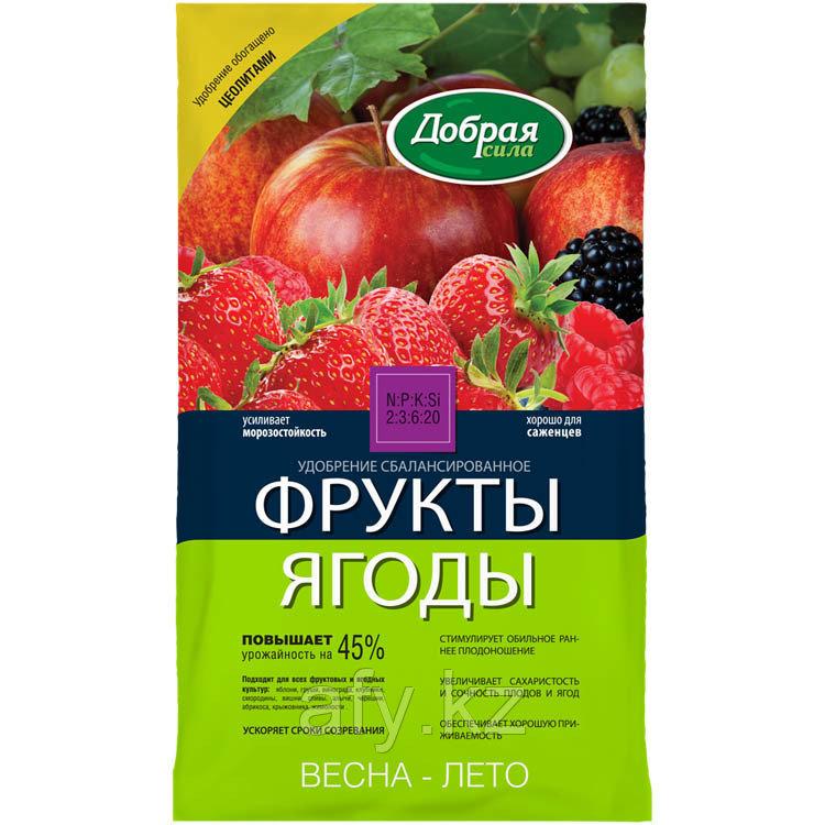 Удобрение для ягод и фруктов