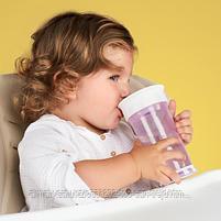 Кружка-поильник Happy Baby Drinking cup 360° Grass, фото 4