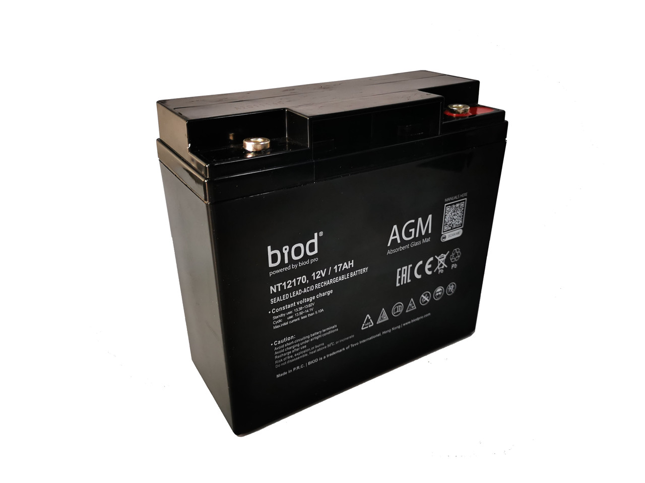 Аккумуляторная батарея 12В, 17Ач для ИБП