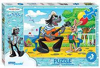 """Мозаика напольная """"puzzle"""" maxi 24  """"Ну,погоди! - 2"""" (С/м)"""