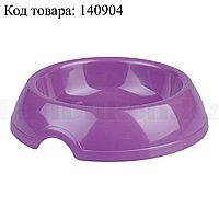 Миска для кошек М6973 фиолетовая