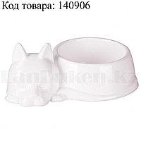 Миска для кошек М5971 белая