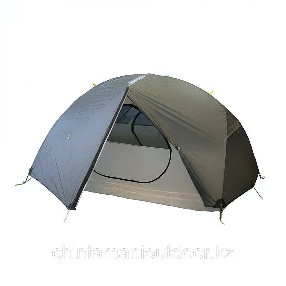 Ультралегкая палатка 2х местная, Tramp Сloud 2 Si, вес 2,15 кг, тамбур - фото 1