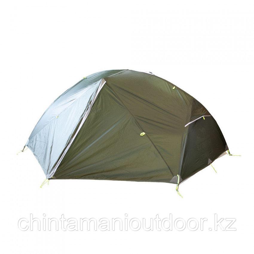 Ультралегкая палатка 2х местная, Tramp Сloud 2 Si, вес 2,15 кг, тамбур - фото 2
