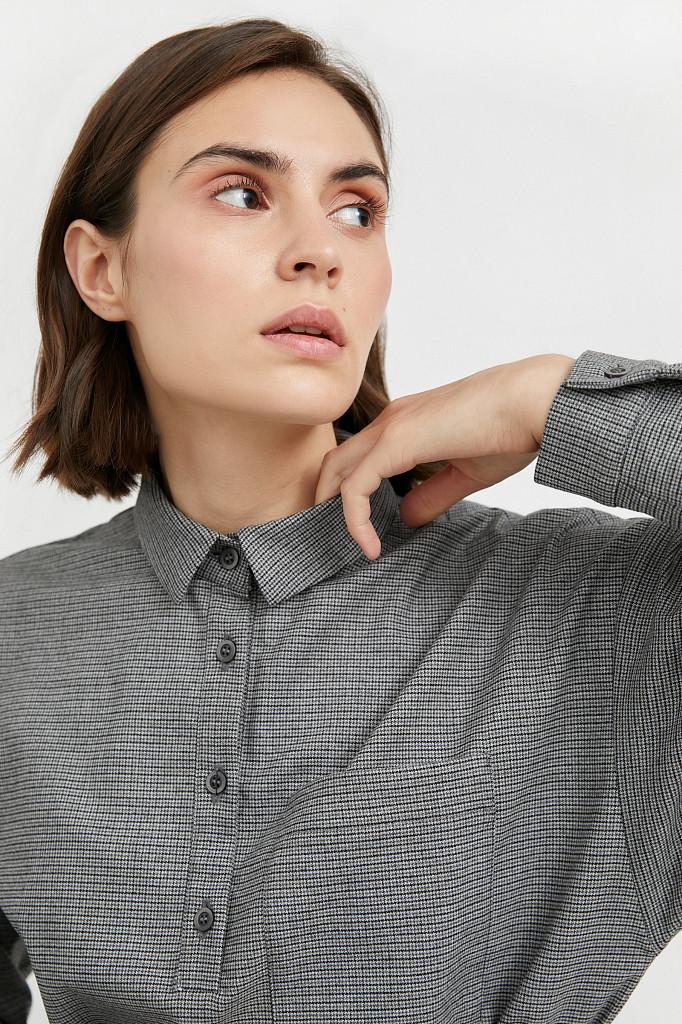 Платье женское Finn Flare, цвет серый, размер 2XL - фото 6