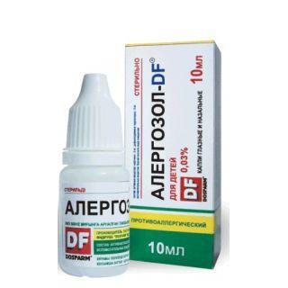 Алергозол - DF 0,03% 10 мл капли
