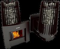 Печь для бани и сауны Cometa 180 Vega Window Grill`D