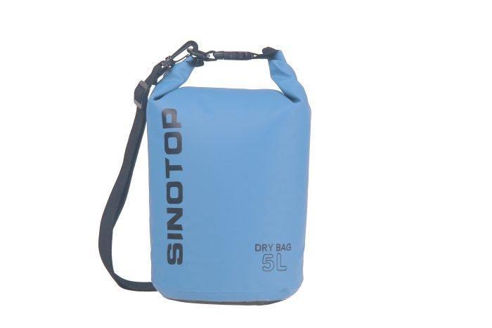 Водонепроницаемый рюкзак Sinotop Dry Bag 5L. (Синий)