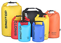 Водонепроницаемый рюкзак Sinotop Dry Bag 5L. (Серый), фото 9