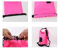 Водонепроницаемый рюкзак Sinotop Dry Bag 10L. (Голубой), фото 10