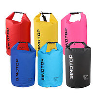 Водонепроницаемый рюкзак Sinotop Dry Bag 10L. (Жёлтый), фото 10