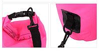 Водонепроницаемый рюкзак Sinotop Dry Bag 10L. (Красный), фото 10
