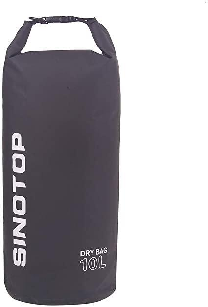 Водонепроницаемый рюкзак Sinotop Dry Bag 10L. (Чёрный)