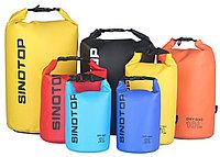Водонепроницаемый рюкзак Sinotop Dry Bag 10L. (Чёрный), фото 10