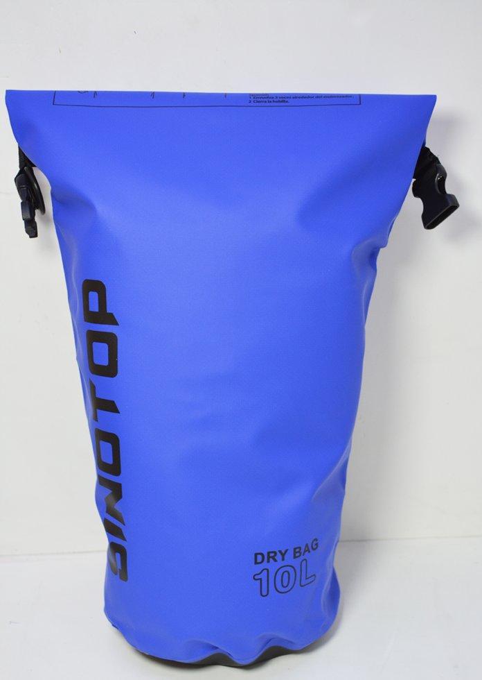Водонепроницаемый рюкзак Sinotop Dry Bag 10L. (Синий)