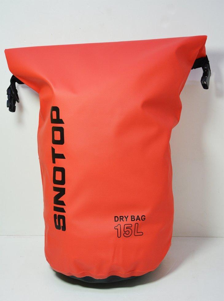 Водонепроницаемый рюкзак Sinotop Dry Bag 15L. (Красный)