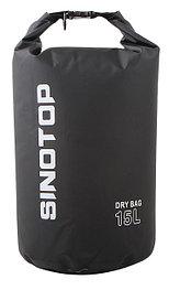 Водонепроницаемый рюкзак Sinotop Dry Bag 15L. (Чёрный)