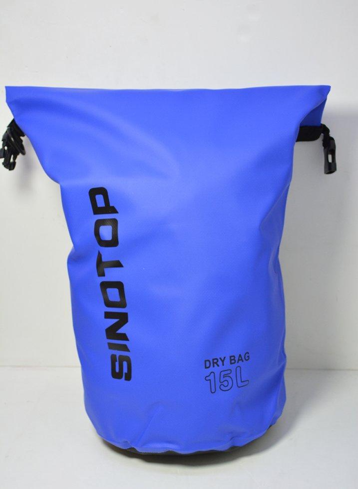 Водонепроницаемый рюкзак Sinotop Dry Bag 15L. (Синий)