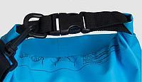Водонепроницаемый рюкзак Sinotop Dry Bag 15L. (Синий), фото 5