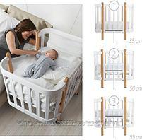 Кроватка-трансформер Happy Baby Mommy Lux, фото 7