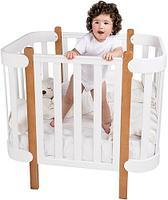 Кроватка-трансформер Happy Baby Mommy Lux, фото 9