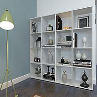 Стеллаж для дома Polini Home Smart 16 секции Белый