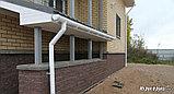 Водостоки Воронка желоба белая  (D-120мм) VERAT, фото 3