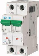 Aвтоматический выключатель 6A 2P PL7-C6/2-DC Eaton