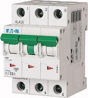 Aвтоматический выключатель PL7-C6/3 6A 3P C Eaton