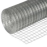 Сетка сварная из оцинкованной проволоки 12,5х25х1,6 раскрой 1 м х 50 м