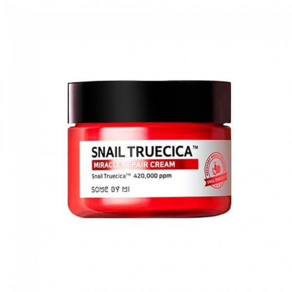 Some By Mi Восстанавливающий крем с Муцином чёрной улитки Snail Truecica Miracle Repair Cream / 60 мл.