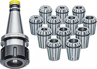 Патрон цанговый JET JE59500026 ISO30/ER32 с набором из 12 цанг (3-20 мм) [JE59500026]