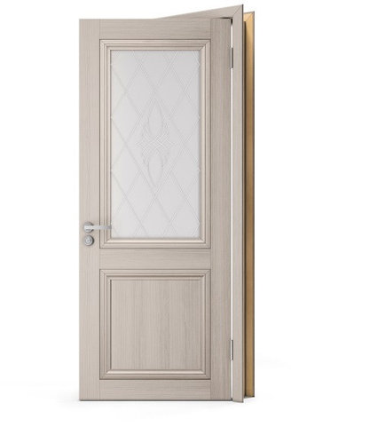 Межкомнатные двери Doren М325.М324 Лиственница белая Экошпон