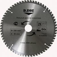Пильный диск по алюминию D.BOR 305х96тх30 [W-039-9K-413059605D]