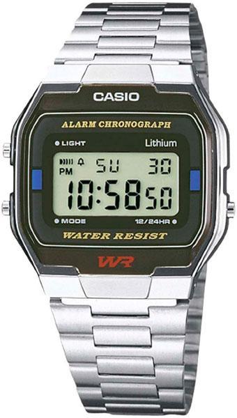 Электронные наручные часы Casio A163WA-1. Оригинал 100%. Классика. Kaspi RED. Рассрочка.