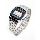 Электронные наручные часы Casio A163WA-1. Оригинал 100%. Классика. Kaspi RED. Рассрочка., фото 6