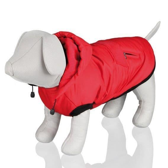 Зимняя попона Trixie Palermo для собак (Красный) - XS - 28-32-27 см