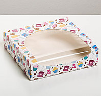 Коробка складная «Сладкие моменты для тебя», 20 х 20 х 5 см