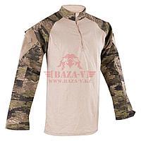 Тактическая рубашка TRU-SPEC TRU® 1/4 Zip Combat Shirt (A-TACS) 50/50 Cordura® NyCo Ripstop (A-TACS FG)